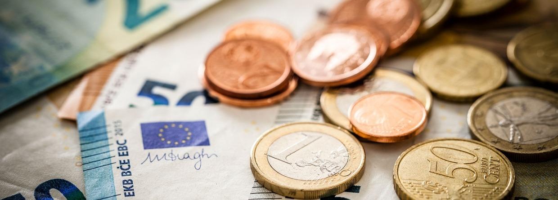 bankbiljetten en munten van de euro